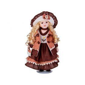 Кукла фарфоровая высота=40 см.-346-237