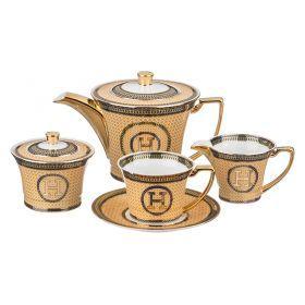 Чайный сервиз на 6 персон 15 пр. 900/200 мл.-215-266