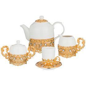 Чайный сервиз на 6 персон 15 пр. 1500/100/300/250 мл.