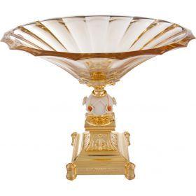 Чаша декоративная диаметр=34 см. высота=28 см.-322-257