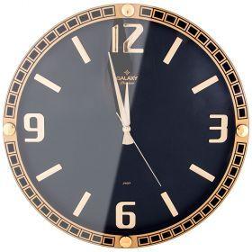 Часы настенные кварцевые диаметр 39,5 см диаметр циферблата 34,9 см-207-403