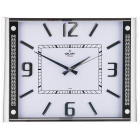 Часы настенные кварцевые 37,1*41,5 см размера циферблата  32,2*30,5 см (кор=10шт.)-207-322