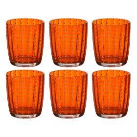 Набор бокалов для сока из 6 шт.высота=9,5 см.400 мл.-495-724