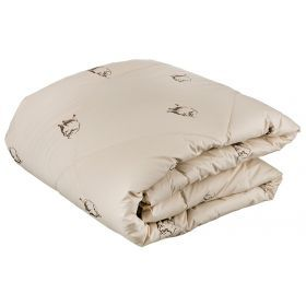 Одеяло як 140*205 см, верх  тик-100% хлопок, наполнитель: 100% высокосиликонизированное микроволокно
