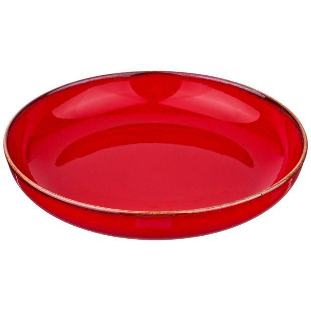 Салатник seasons 22 см, цвет красный (кор=6шт.)-664-148