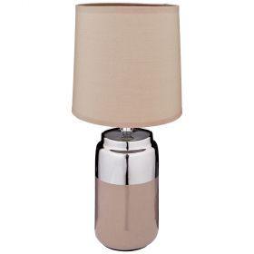 Светильник с абажуром высота=36 см. диаметр=16 см.-139-198