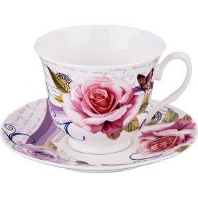 Чайный набор на 1 персону 2пр. 220 мл.-165-358