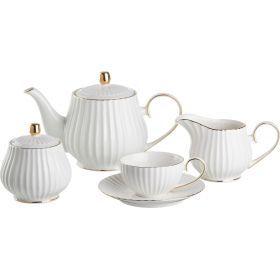Чайный сервиз на 6 персон 15 пр.900/150 мл.-84-824