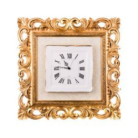 Часы в раме 77*77 см. циферблат 34*34 см.-300-048