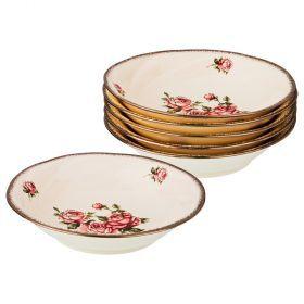 Набор тарелок из 6 шт. диаметр=19,5 см. (кор=8набор.)-797-041
