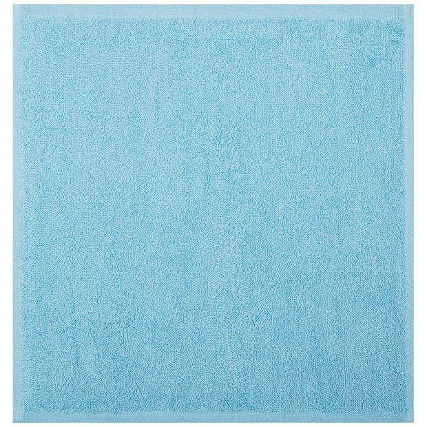 Салфетка 35*35 см, 100% хлопок, плотность 400 г/м2 цвет мятный (кор=250шт.)-982-022