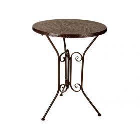 Стол диаметр=61 см. высота=78 см. без упаковки