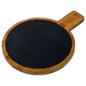 Доска разделочная agness 29,5*22*1,5 см. бамбук, сланец (кор=6шт.)-897-061