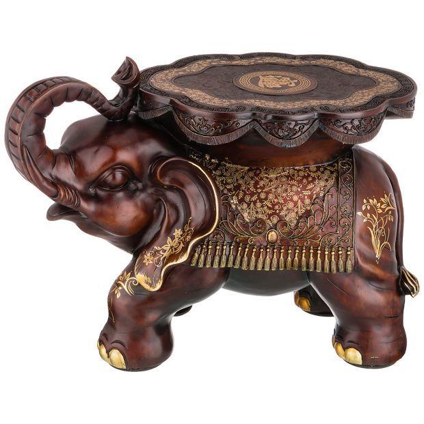 """Фигурка слон """"активная жизненная позиция"""" 63*32 см высота=42 см (кор=1шт.)-114-411"""