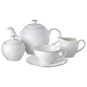 Чайный сервиз на 6 персон 15 пр. 1000/200/300/250 мл.-264-773