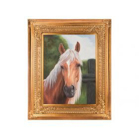 Картина масляная на холсте 101*75 см. багет 143*120 см.-107-1103