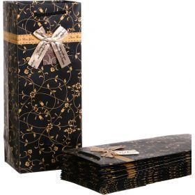 Комплект бумажных пакетов из 10 шт. 15*12*36 см (кор=30комп.)-521-070