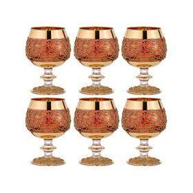 Набор бокалов для коньяка из 6 шт.400 мл.высота=14 см.-103-512