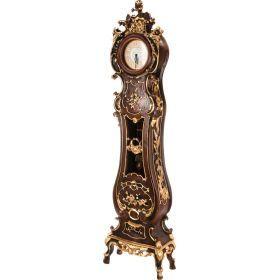 Часы напольные кварцевые с маятником 51*25*189 см. диаметр циферблата=20 см.-204-173