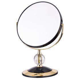 Зеркало настольное диаметр=18 см.высота=30 см.увеличение в 5 раз-416-085