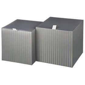 Набор подарочных коробок из 2 шт. 21*21*21/18,5*20*20 см.-37-246