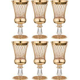 Набор бокалов для вина из 6 шт.300 мл.высота=20 см.-103-492