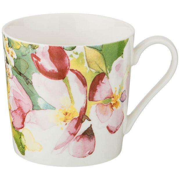 """Кружка """"цветы"""", 400 мл-275-1146"""