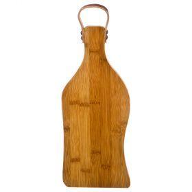 Доска разделочная agness 34,5*14,5*1,5 см. бамбук (кор=12шт.)-897-063
