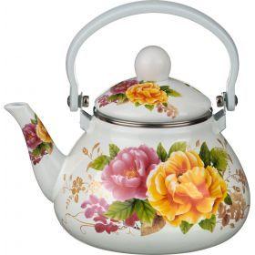 Чайник эмалированный с фильтром из нжс 1,3 л.-934-312