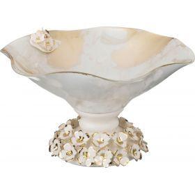 Декоративная чаша диаметр=22 см. высота=12 см.-316-1072