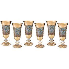 Набор стаканов из 6 шт.250 мл.высота=19 см.-103-517
