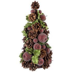 Изделие декоративное елка высота=37 см. без упаковки