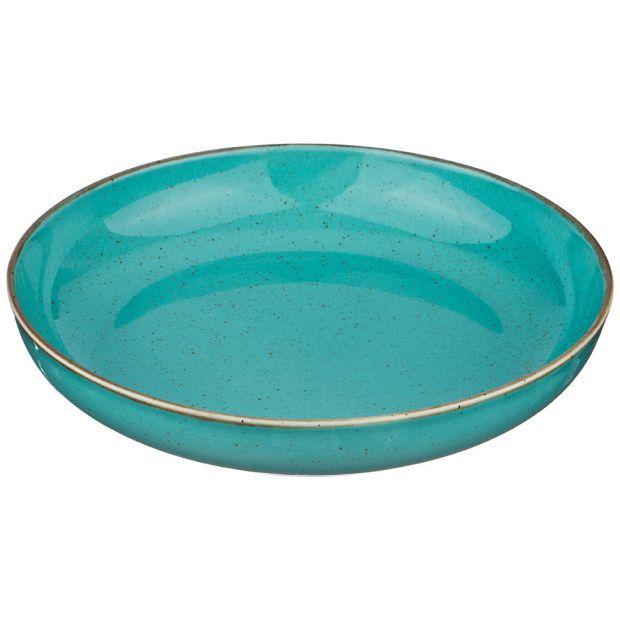 Салатник seasons 22 см, цвет бирюзовый (кор=6шт.)-664-147
