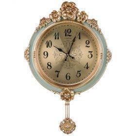 Часы настенные кварцевые с маятником 42*8,5*67 см (кор=8шт.) циферблат 29 см-204-248