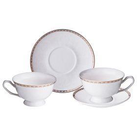 Чайный набор на 2 персоны 4пр. 220 мл-165-441