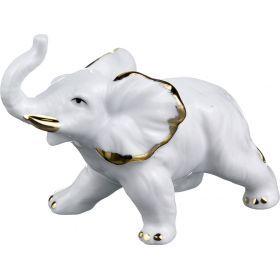 Комплект фигурок из 2 шт.слон 13*5 высота=12 см. 11*5 высота=8,5 см.