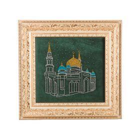 Картина со стразы московская соборная мечеть , 50x52см-562-209-51