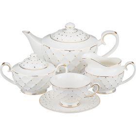 Чайный сервиз на 6 персон 15 пр. 1100/420/270/200 мл.-275-772