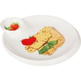 Блюдо для блинов 23*20 см.-388-151