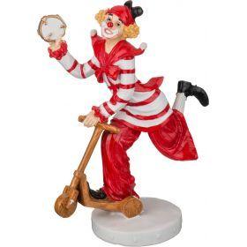 Фигурка клоун 15*8*20 см.