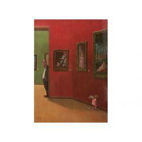 Открытка в музее  15*10,5 см.