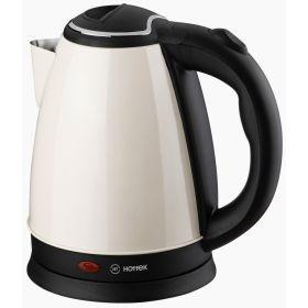Чайник электрический из нерж.стали hottek ht-970-200 1,8л, 1800 вт белый-970-200