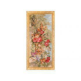 Гобеленовая картина аромат цветов 125х58см.