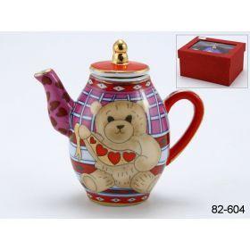 Чайник декоративный 9*8*4 см. 75 мл.-82-604