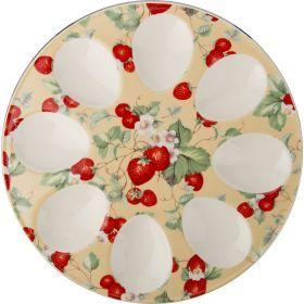 Тарелка для яиц. диаметр=20 см.-388-131