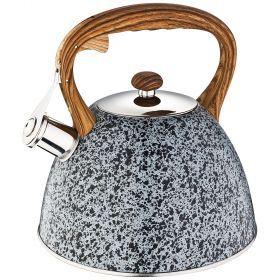 Чайник agness со свистком 3,0 л, индукцион. капсульное дно-908-049