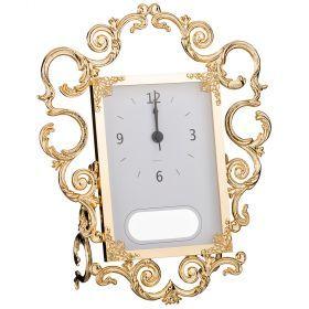 Часы настольные 27*10 см.высота=31 см.циферблат 12*17 см.-284-512