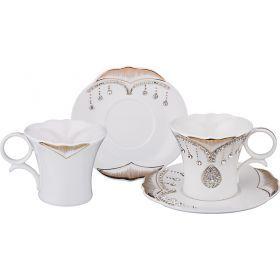 Чайный набор на 2 персоны 4 пр. 200 мл-437-079