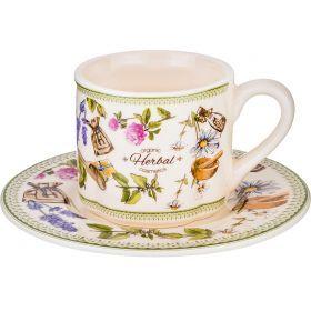 Чайный набор на 2 персоны 4 предмета