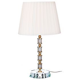 Светильник с абажуром высота=52 см. диаметр=30 см. патрон е14-661-076